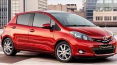 Ενοικιάσεις αυτοκινήτων Toyota Yaris 2012 nav