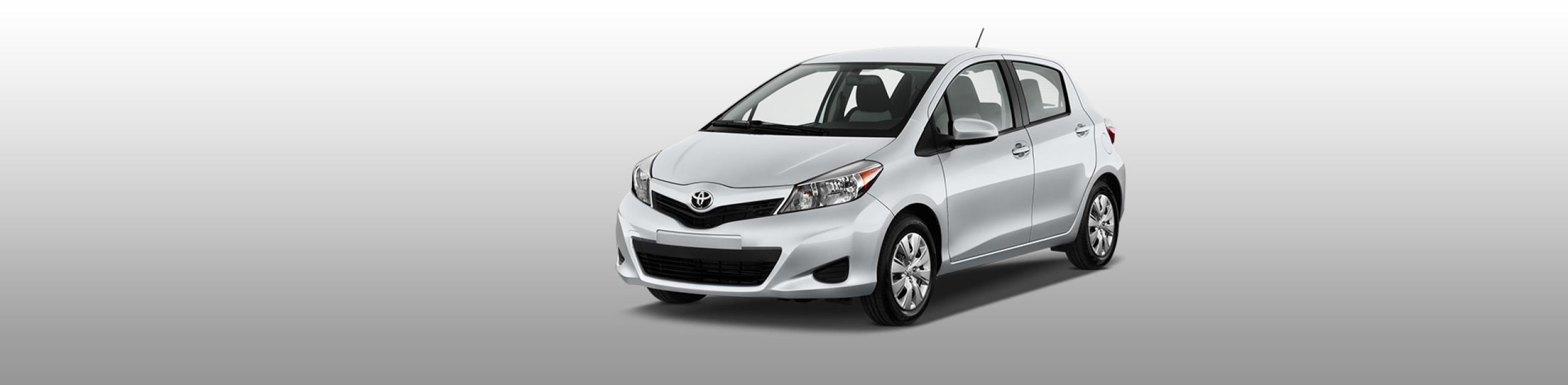 Lesvos Car Hire - Toyota Yaris Automatic
