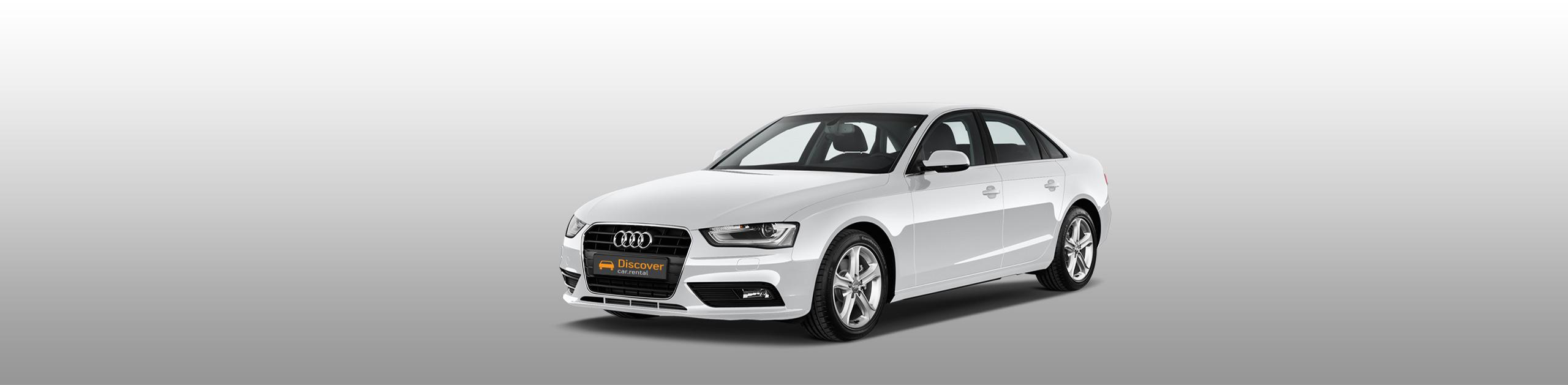 lesvos car rental Audi A4 TFSI